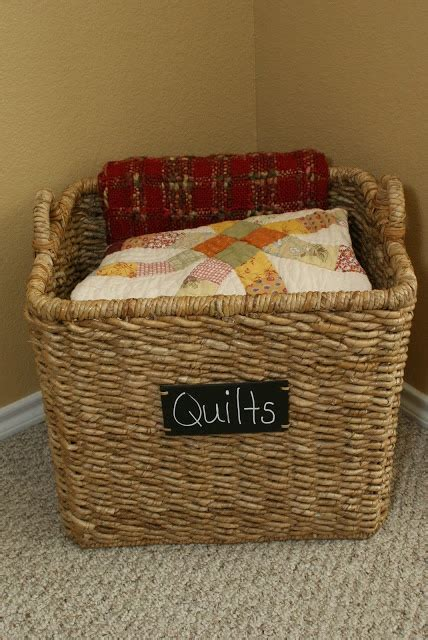 comforter storage ideas love this idea for blanket storage desks organization