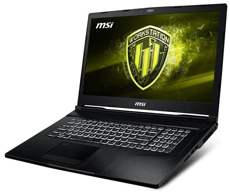 buy msi we73 8sk 8th xeon e workstation laptop laptop with 1tb ssd and 32gb ram at evetech co za