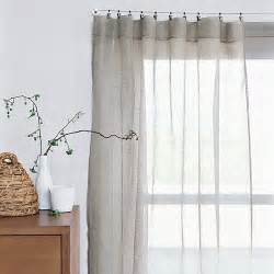 Sheer Linen Curtains Sheer Linen Window Panels From West Elm Cabbages Window Panels And Grey
