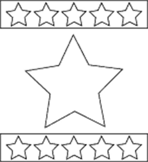 patriotic stars coloring page 4th of july printable
