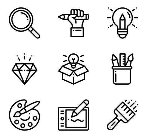 graphic design icon definition 50 graphic design icons vector free download
