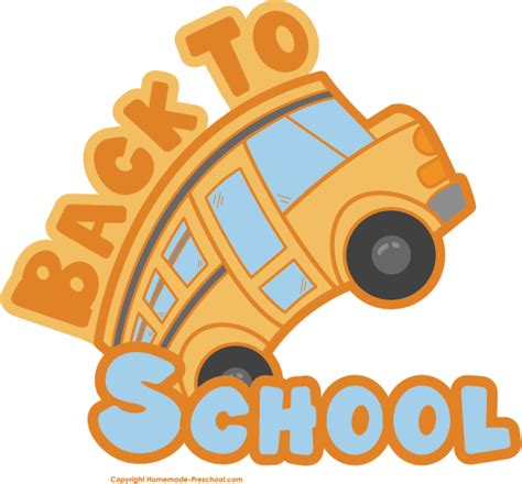 back to school clipart free back to school clipart