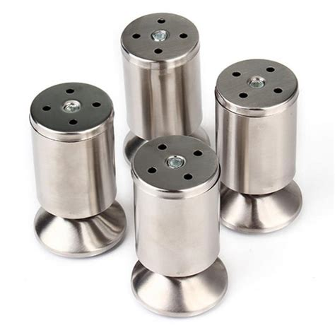 silver sofa legs 4pcs pack stainless steel modern sofa legs furniture
