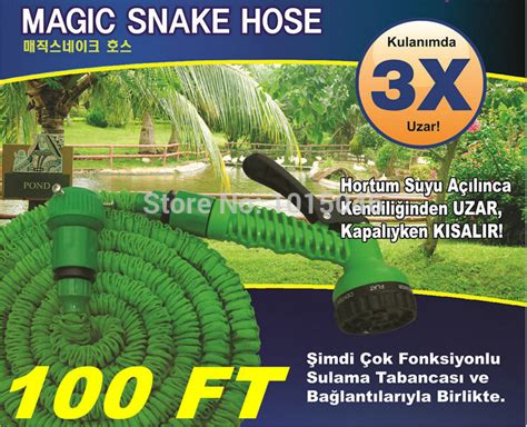 Magic X Hose Selang Air 30 Meter 100 free shipping 1x 100ft retractable hose water pipe after