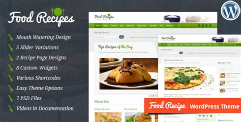 themes wordpress food 40 best food and recipe wordpress themes 2016 designmaz