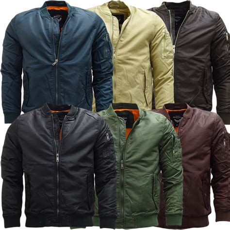 Cabs Pocket Type Oslo mens jackets brave soul bomber jacket oslo ebay