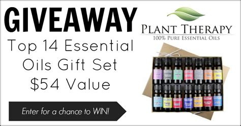 Physical Therapy Giveaways - giveaway plant therapy top 14 essential oil set winner butter nutrition