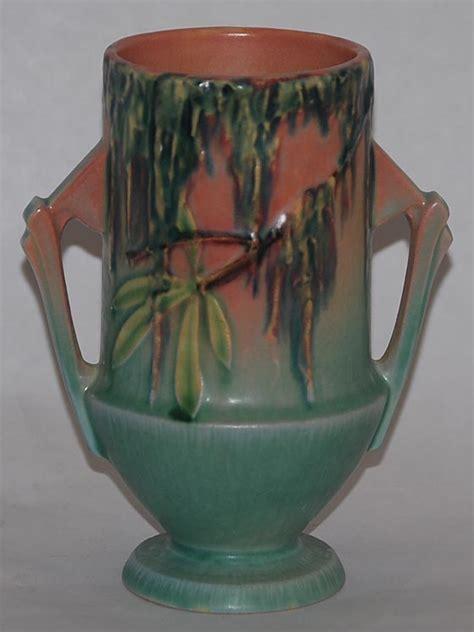 Antique Roseville Pottery Vases by Roseville Pottery Moss Pink Vase For Sale Antiques