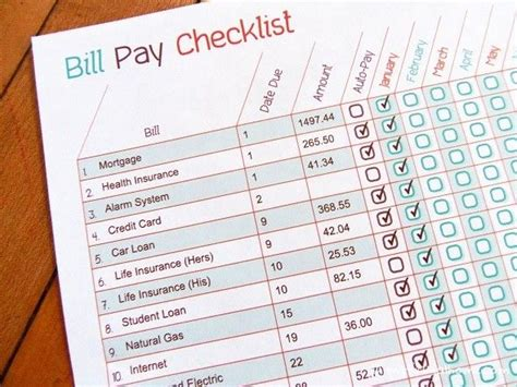 organize bills best 25 bill organization ideas on pinterest bill