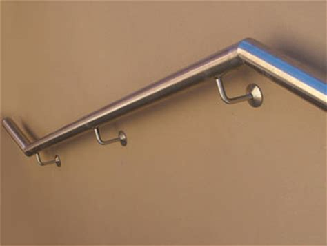 Handrail Attached To Wall Wall Mounted Rails Plaza Handrails Wall Mounted