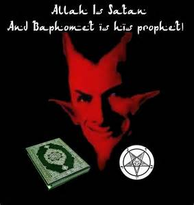 illuminati vs islam allah is satan and baphomet is his prophet the