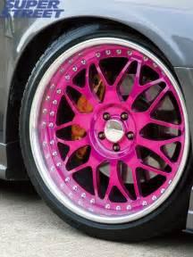 Truck Wheels With Pink Anyone Pink Rims Nasioc