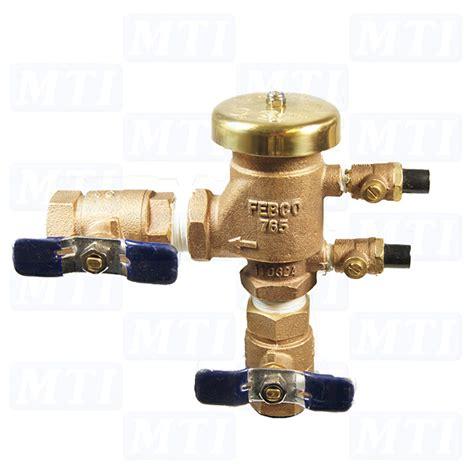 febco 765 3 4 quot pressure vacuum breaker