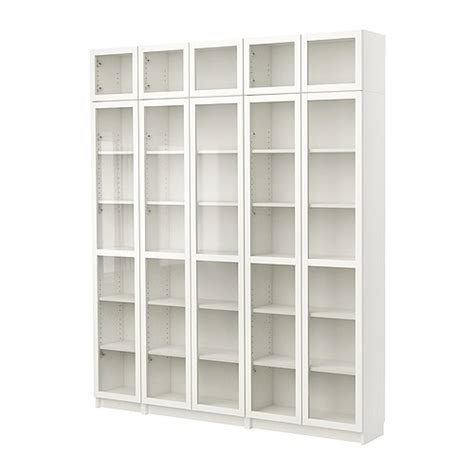 Ikea White Bookcase With Glass Doors Living Room Sofas Armchairs Tv Media Furniture More Ikea