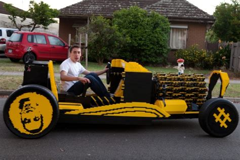 best of lego world s size lego car can hit 20 mph powered