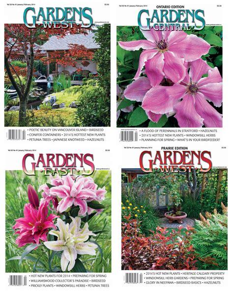 living tree art article in gardens west magazine earl senchuk