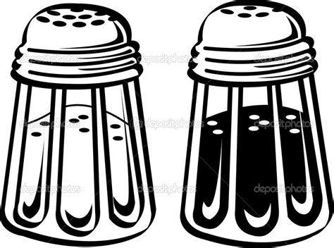 shaker vector salt shaker drawings clipart clipart suggest