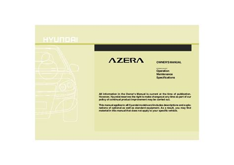 free download parts manuals 2009 hyundai azera on board diagnostic system 2009 hyundai azera owners manual