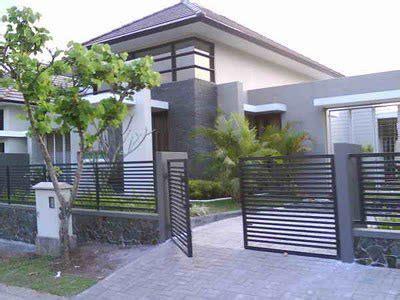 gambar pagar rumah minimalis kumpulan gambar rumah