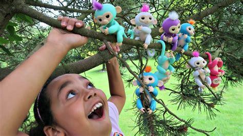 Fingerlings Baby Monkey fingerlings interactive baby monkey 187 petagadget