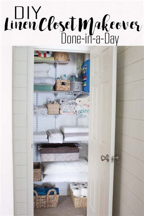 Diy Closet Makeover by Diy Linen Closet Makeover Southern Revivals