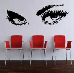 Oversized Wall Stickers Sexy Eyes Large Vinyl Wall Sticker Decal Graphic Mural Art