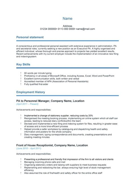 resume cv templates 48 great curriculum vitae templates exles template lab
