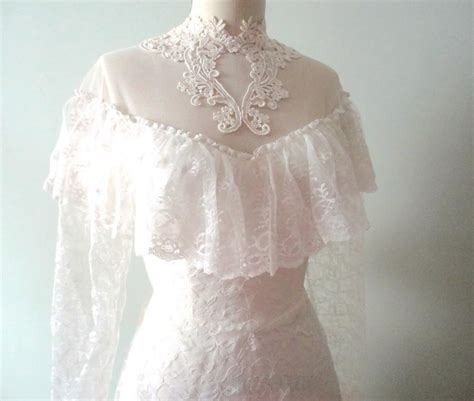 Vintage Wedding Dress 3 by Sale Vintage Wedding Dress Chantilly Lace Classic