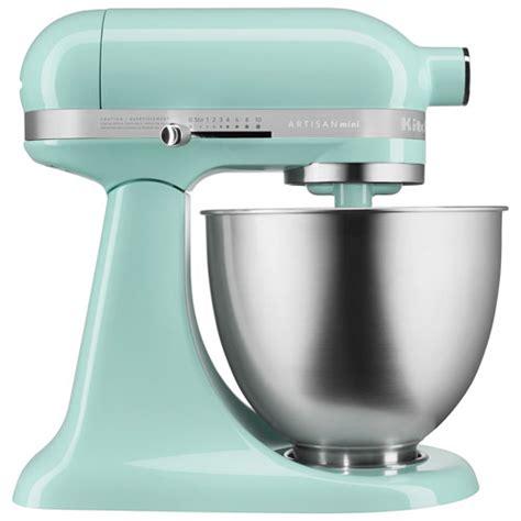 kitchenaid artisan mini stand mixer 3 31l ice blue