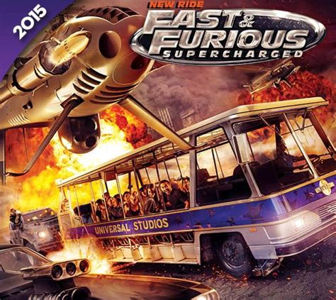 fast and furious 8 supercharged fast and furious ride coming to universal studios hollywood