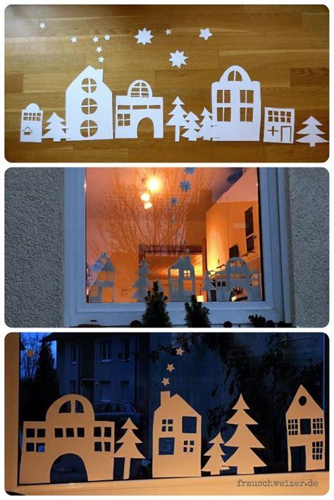 Fensterdeko Weihnachten Schule by Die Besten 25 Basteln Im Winter Ideen Auf