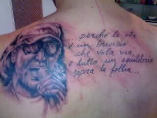 tatuaggi canzoni vasco tatuaggi frasi vasco