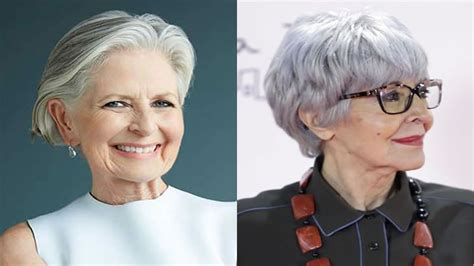 hair style and fashion trends for 60year old women 2018 2019 short and modern hairstyles for stylish older