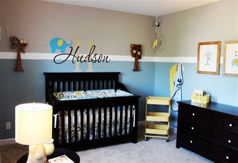 Painted Bedroom Furniture Ideas baby boy nursery ideas giraffe owl amp elephant theme