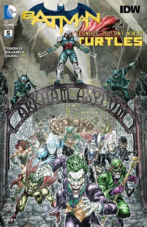 batman mutant turtles vol 1 batman mutant turtles vol 1 5 dc database