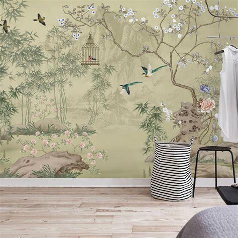 tapisserie bambou les 23 meilleures images du tableau papier peint d artiste