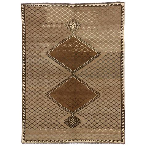 modern turkish rugs vintage turkish oushak rug with modern style for sale at 1stdibs