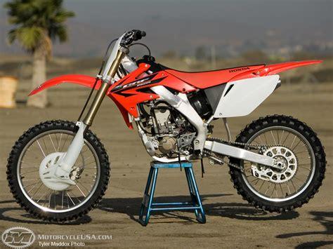 2007 honda crf250r specs 2006 crf250r project bike motorcycle usa