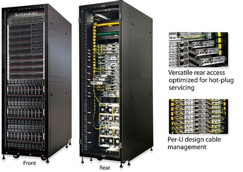 supermicro launches superrack at idf