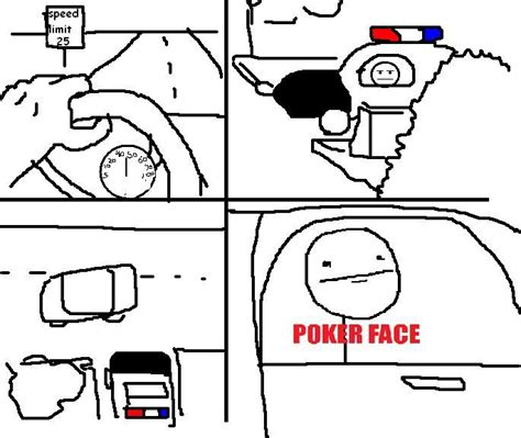 Poker Face Meme - poker face meme comics memes