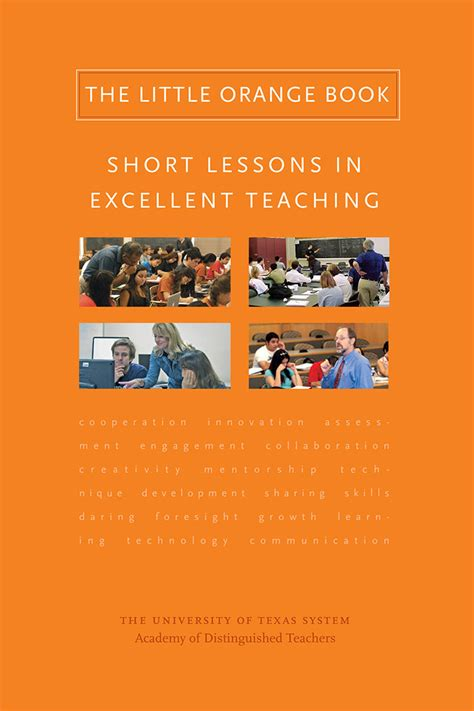 Advice For New Faculty Members ut system academy of distinguished teachers releases book