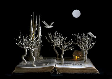 Cool Artist Su Blackwell by Books Turned Into Fairytale Sculptures By Su Blackwell