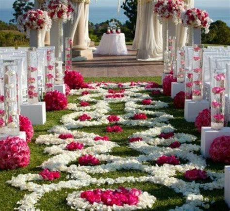 Wedding Aisle Decorations On A Budget by Fuchsia Wedding Jwed 2206687 Weddbook