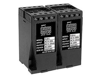 Ac Voltage Transducer 4 20ma by Fud I U Single Phase 4 20ma Ac Voltage Current Transducer