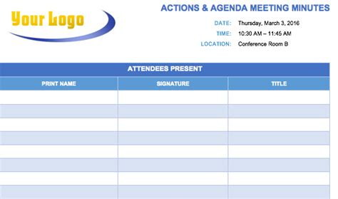 minutes of meeting format minutes of meeting template minutes of