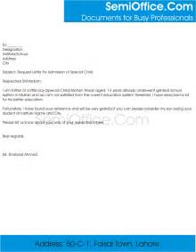 Parent Letter College Admissions Request Letter For Admission To School Principal