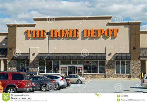 home depot store editorial photography image of gardening