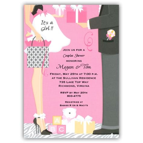 invites for baby shower girl damask bag girl baby shower invitations paperstyle