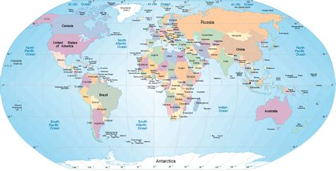 the world map world map map of world world political map