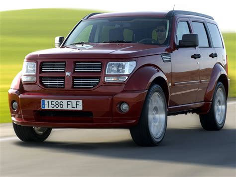 dodge nitro technical specifications and fuel economy